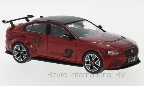 Jaguar XE SV Project 8 2017 Donkerrood Metallic