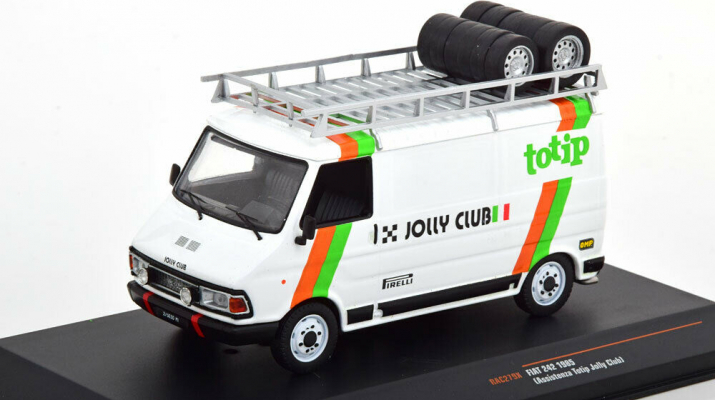 Fiat 242 1985 - Rally Assistance Totip Jolly Club