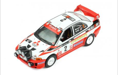 Mitsubishi Carisma GT Winner Rally GB 1998 Burns/Reid