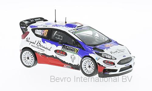 Ford Fiesta RS WRC No.17 Rally Monte Carlo 2016 B. Bouffier/V. Bellotto