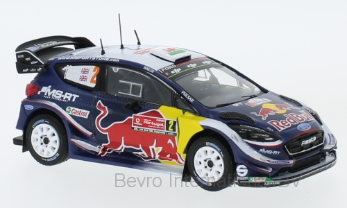 Ford Fiesta WRC No.2 Red Bull Rally Portugal 2018 Evans/Barritt