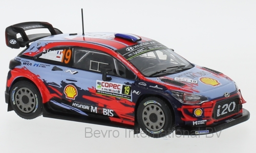Hyundia i20 WRC No.19 Rally Chili 2019 Loeb/Elena