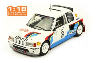 Peugeot 205 T16 No.8 Rally Monte Carlo 1985 Saby/Fauchille