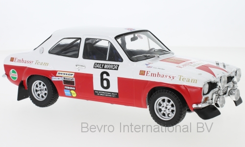 Ford Escort MKI RS 1600 No.6 RAC Rally 1971 Clark/Porter
