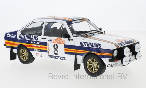Ford Escort MKII RS 1800 No.8 Rothmans Rally San Remo 1980 Mikkola/Hertz