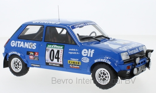 Renault 5 Alpine No.4 Rally Bandama 1978 Ragnotti/Andrie