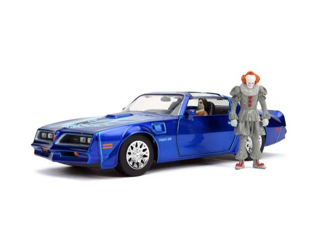 Pontiac Firebird met Pennywise 1977 - IT 2nd Chapter