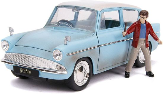 Ford Anglia met Harry Potter 1959 - Harry Potter