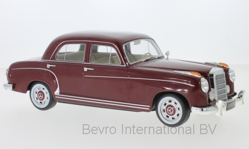 Mercedes-Benz 220S Limousine 1956 Donkerrood