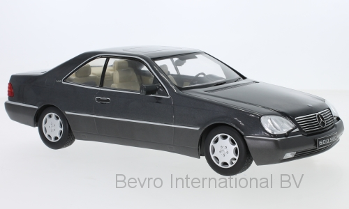 Mercedes-Benz 600 SEC 1992 Antraciet Metallic