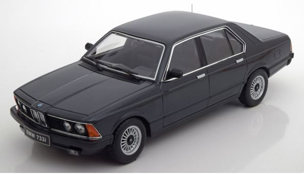 BMW 733i (E23) 1977 Zwart Metallic