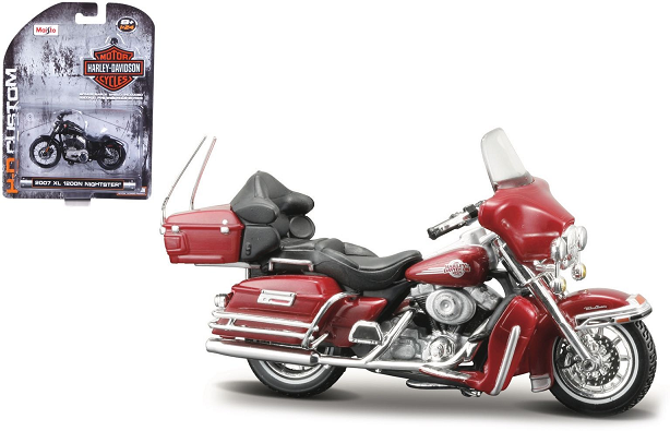 Harley-Davidson FLHTCUI Ultra Classic Electra Glide 2005 Rood
