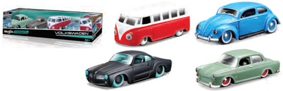 Volkswagen Series - 4 Car Set