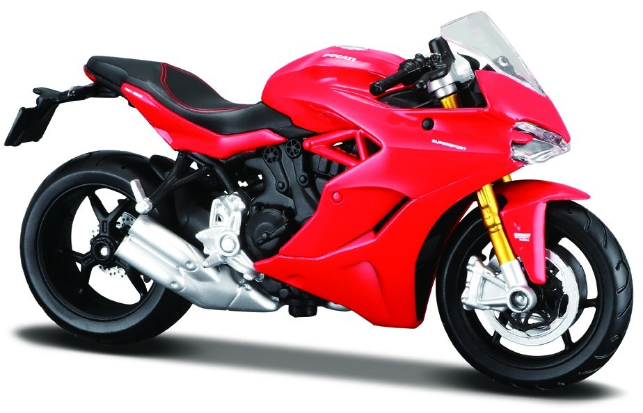 Ducati Supersport S Rood