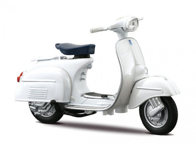 Vespa Scooter 125 GT (1966) Wit