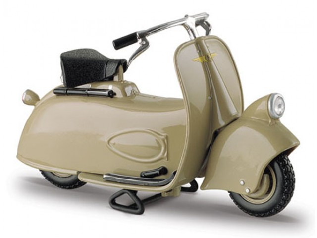 Vespa Scooter MP5 Paperino (1945) Groen