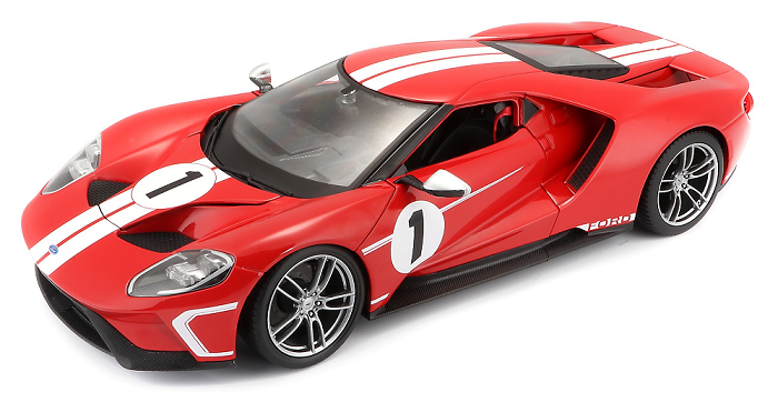 Ford GT No.1 2017 Rood/Wit