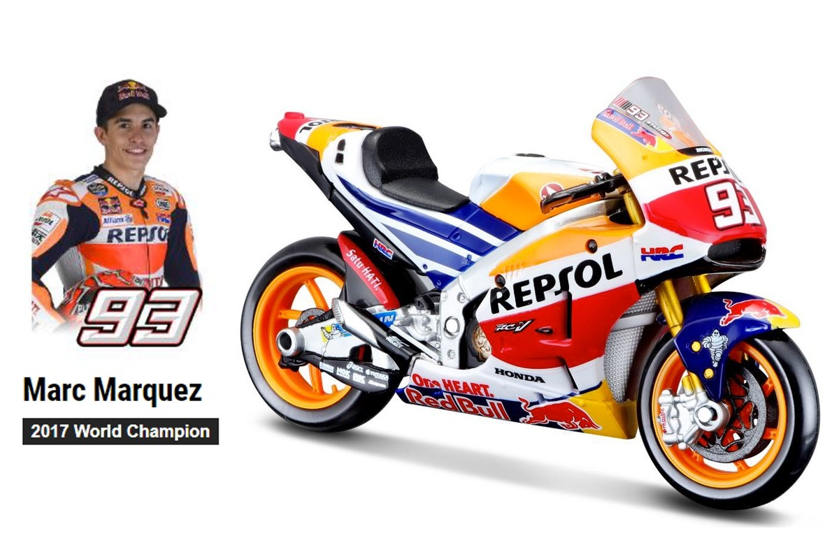 Honda RC213V Moto GP 2017 World Champion M. Marquez