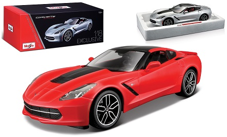 Chevrolet Corvette Stingray Z51 2014 Rood/Zwart