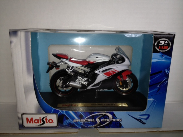 Yamaha YZF-R6 Wit/Rood