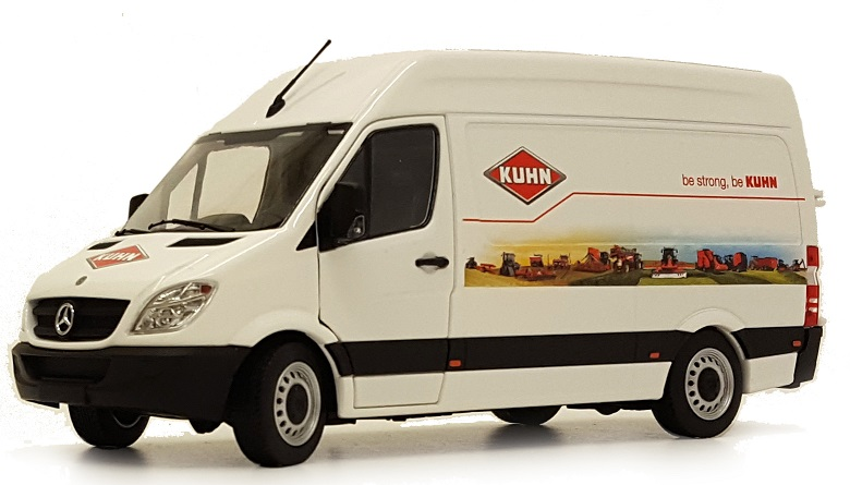 Mercedes-Benz Sprinter Wit - Kuhn Edition