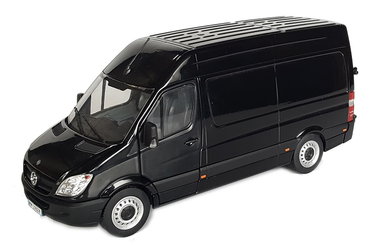 Mercedes-Benz Sprinter Zwart