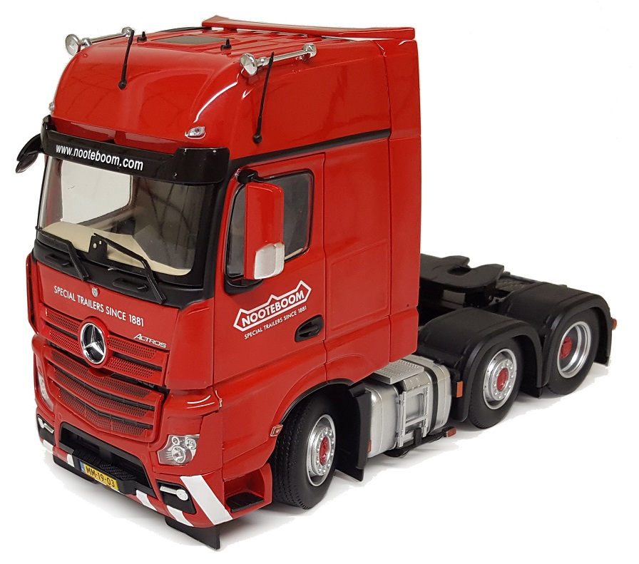 Mercedes-Benz Actros Gigaspace 6x2 Rood - Nooteboom Edition