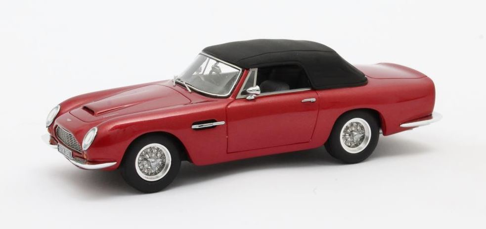 Aston Martin DB6 Volante 1966 Rood Metallic (closed)