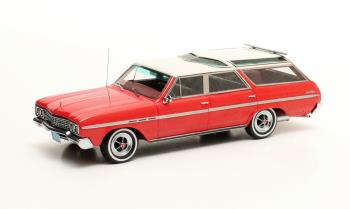 Buick Sport Wagon 1965 White/Red