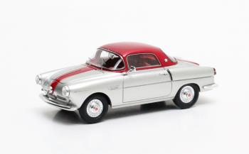 Viotti 600 Coupe 1959 Silver/Red Metallic