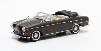 BMW 502 3200 V8 Super Cabrio Autenrieth 1959 Brown Metallic