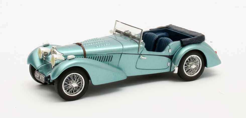 Bugatti T57SC Sports Tourer 1938 Blauw Metallic - Open