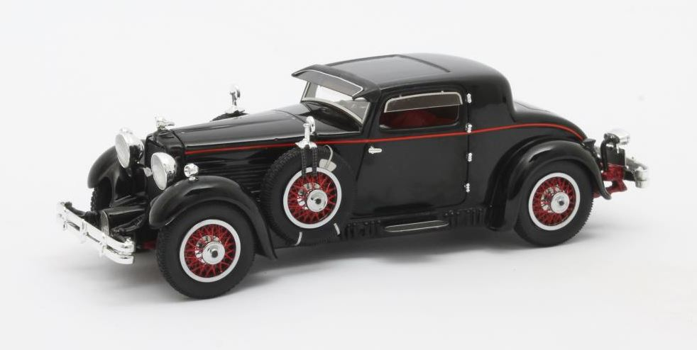 Stutz Model M Supercharged Lancefield Coupe 1930 Zwart