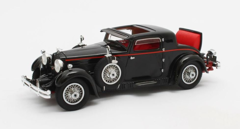 Stutz Model M Supercharged Lancefield Coupe 1930 Zwart - Open