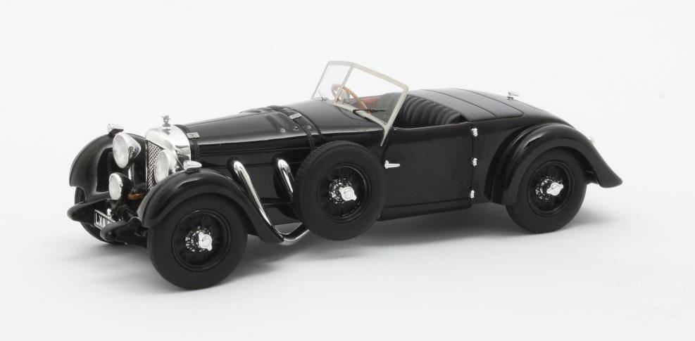 Bentley 8-ltr Dottridge Brothers Tourer Open 1932 Zwart