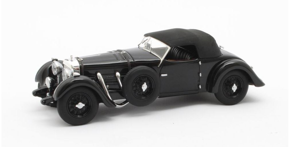 Bentley 8-ltr Dottridge Brothers Tourer Gesloten 1932 Zwart