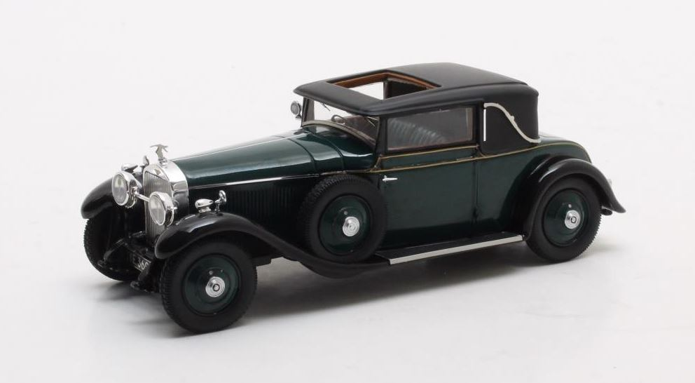 Hispano Suiza H6B Park Ward Coupe 1927 Groen