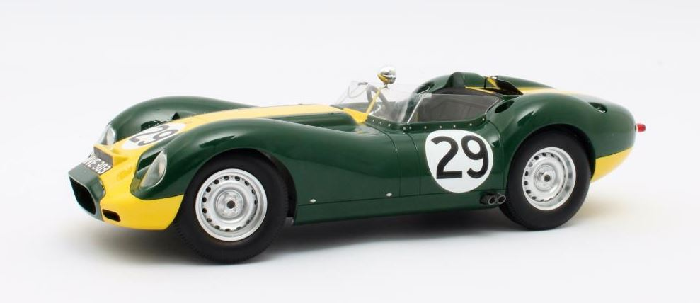 Lister-Jaguar No.29 Winner Silverstone 1958 Stirling Moss