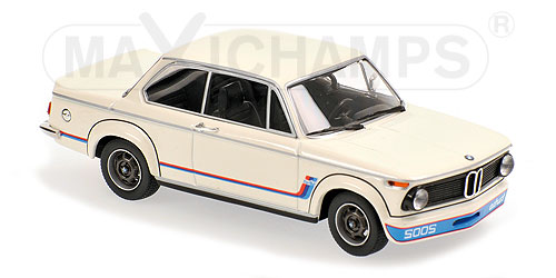 BMW 2002 Turbo 1973 Wit