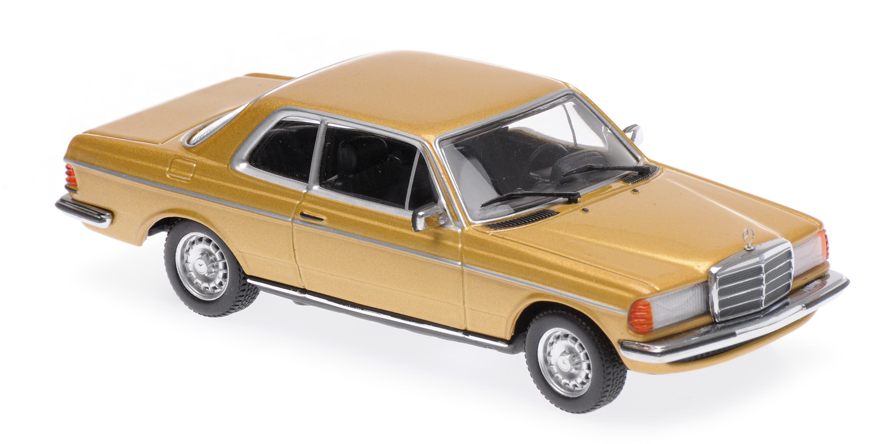 Mercedes-Benz 230CE (W123) 1976 Goud Metallic