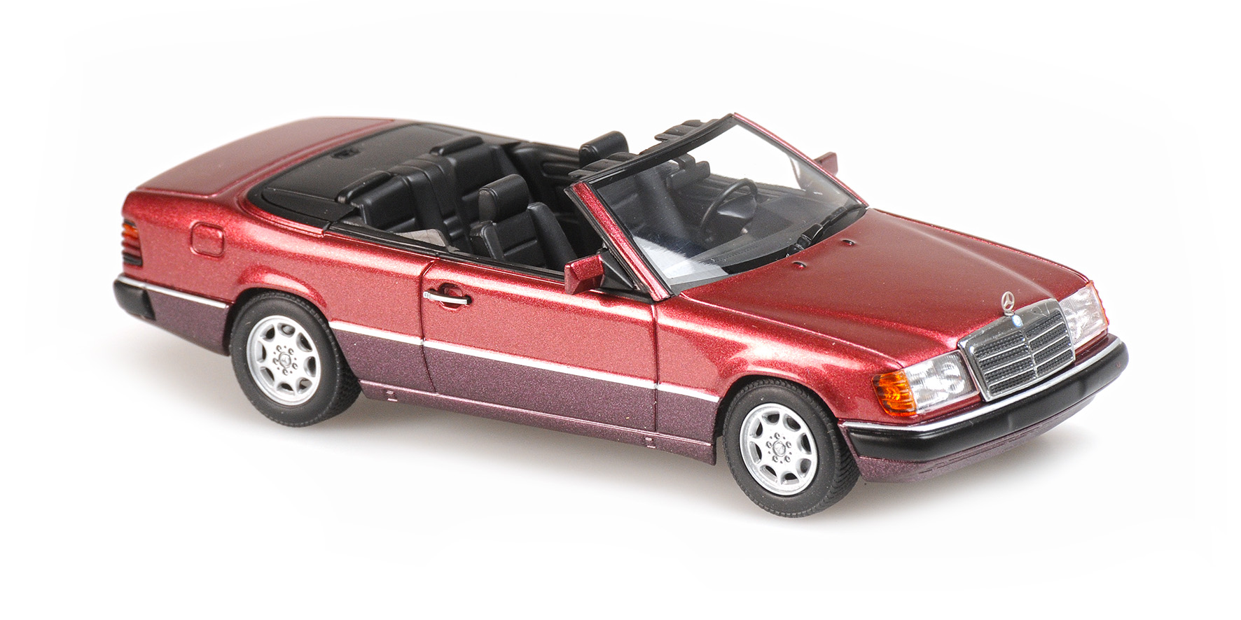 Mercedes-Benz 300 CE Cabriolet 1991 Rood Metallic