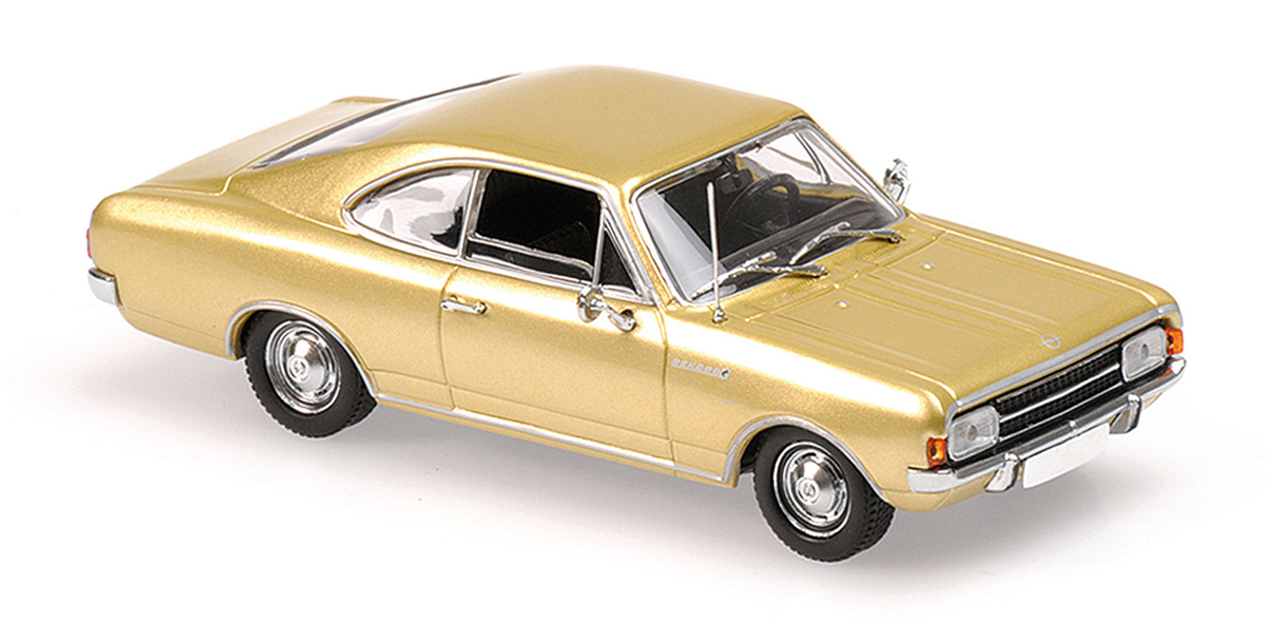 Opel Rekord C Coupe 1966 Goud