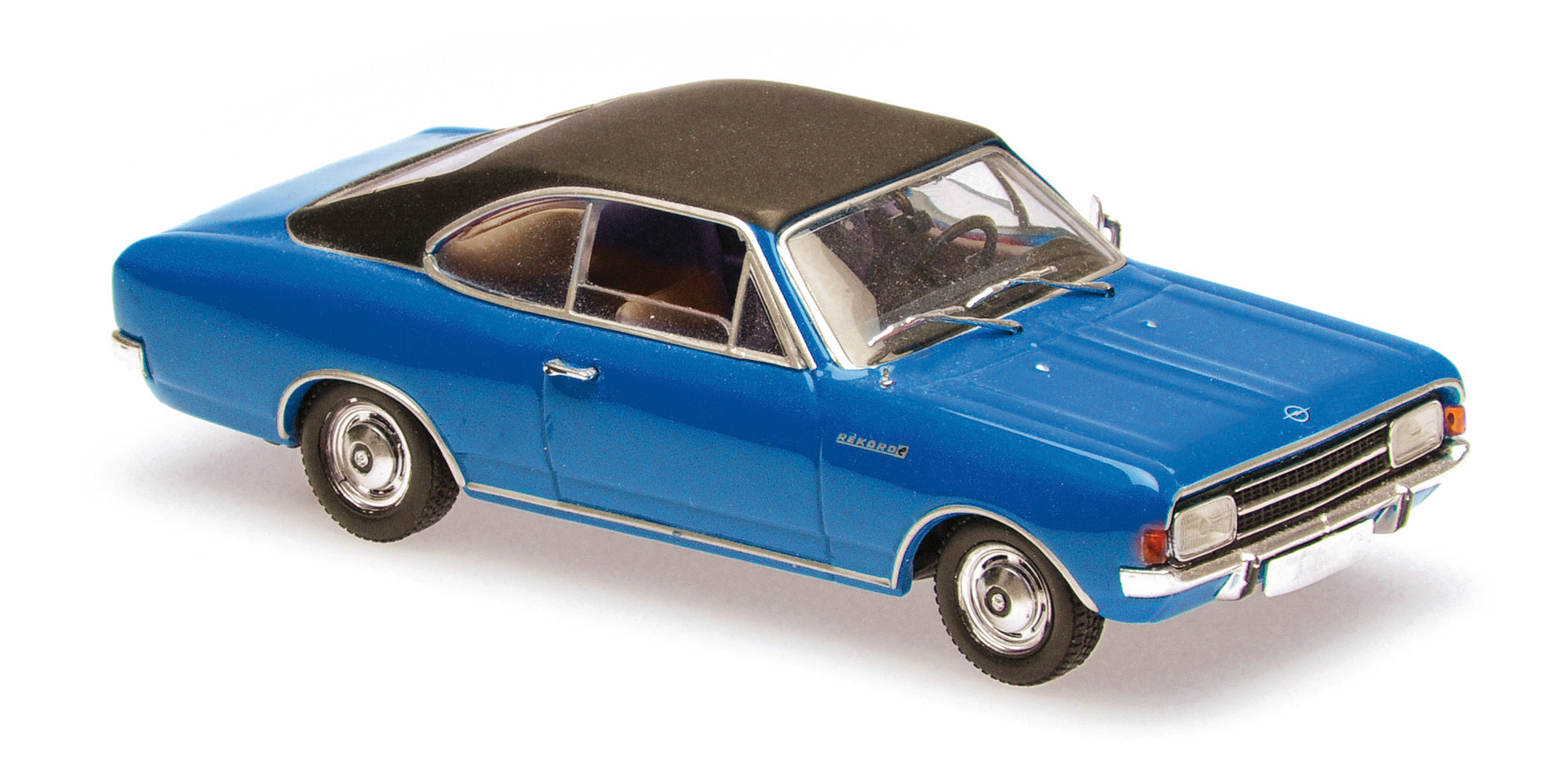 Opel Rekord C Coupe 1966 Blauw