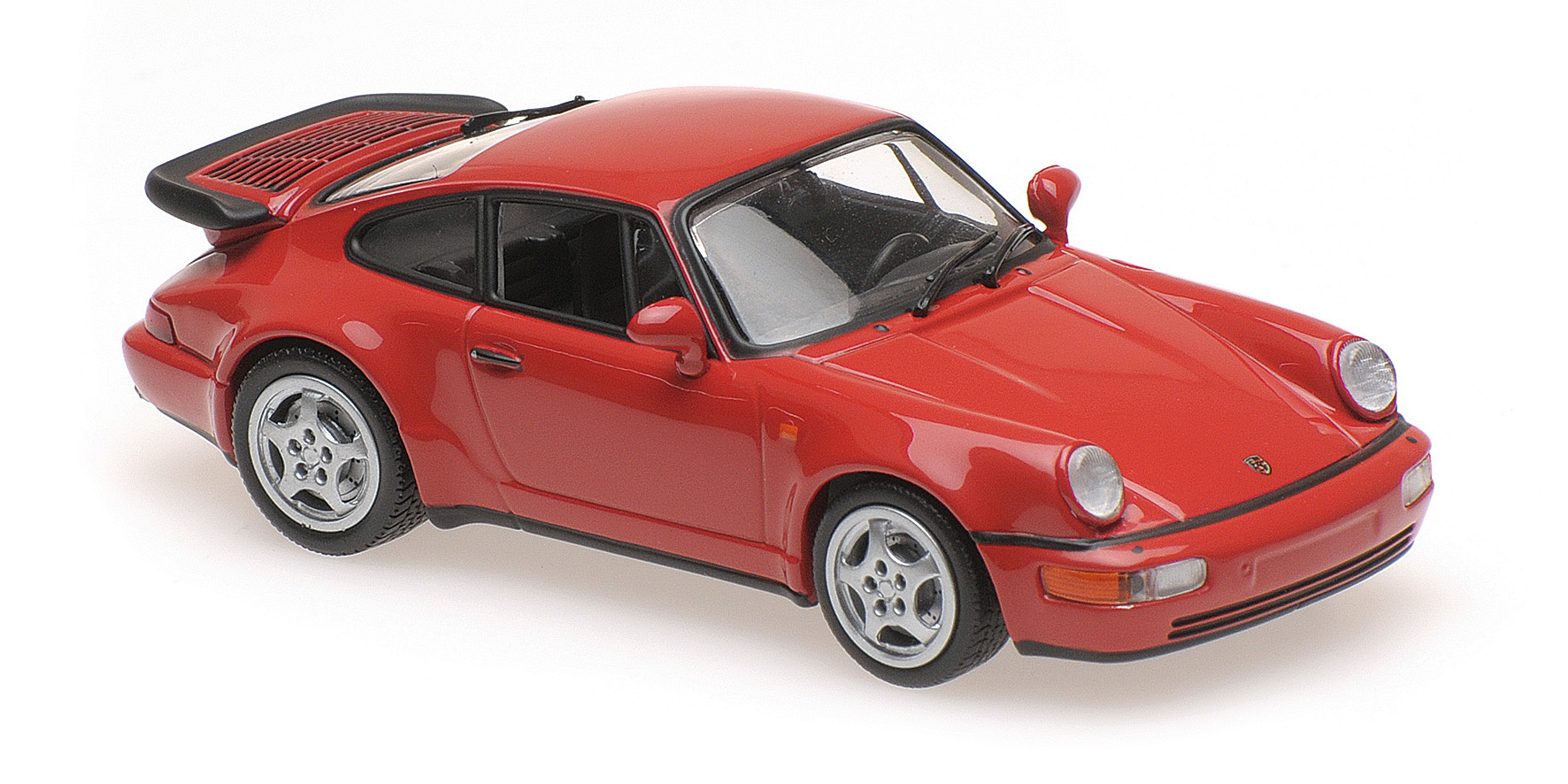 Porsche 911 (964) Turbo 1990 Rood