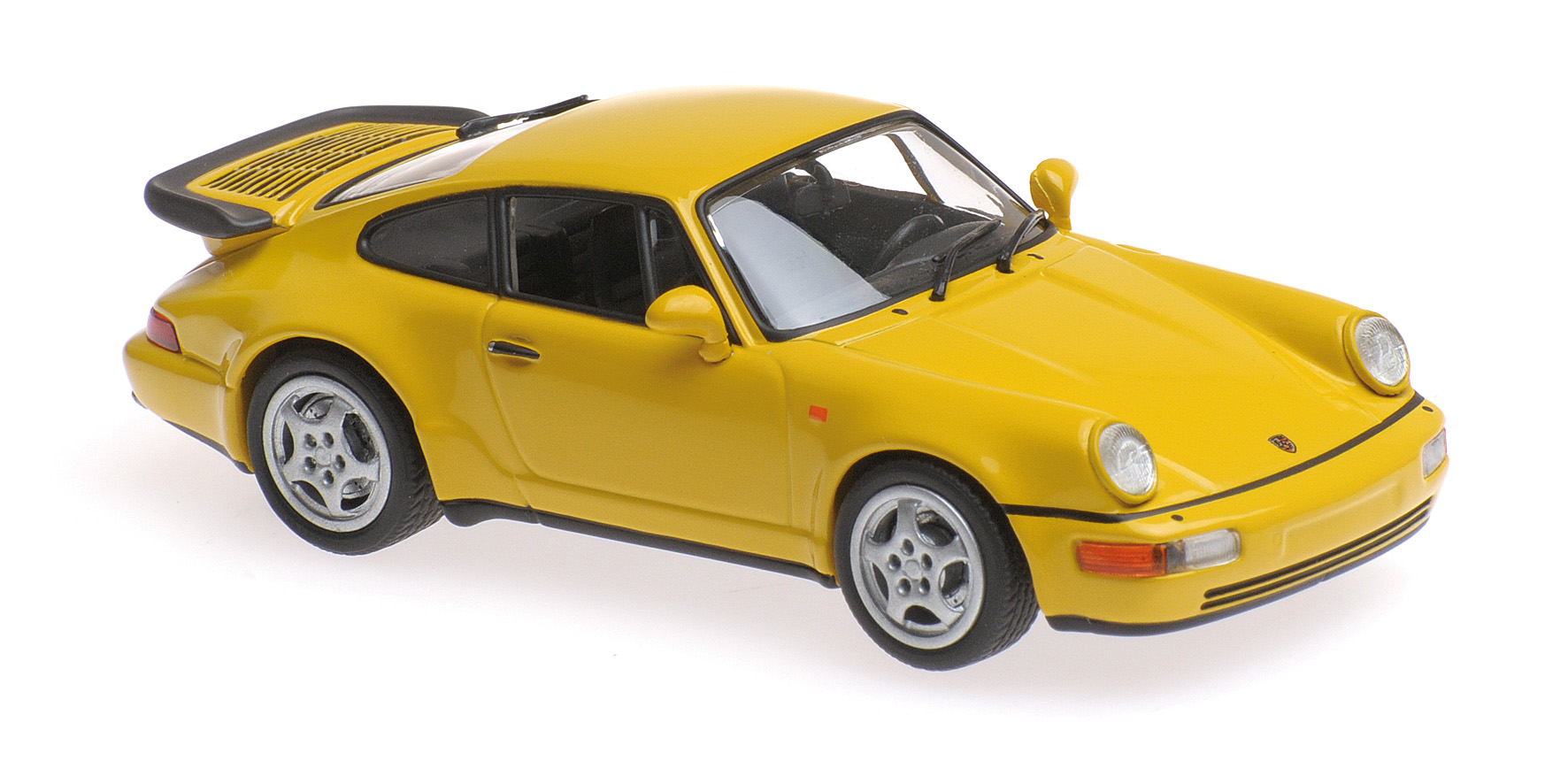 Porsche 911 (964) Turbo 1990 Geel