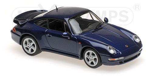 Porsche 911 (993) Turbo S 1997 Blauw Metallic