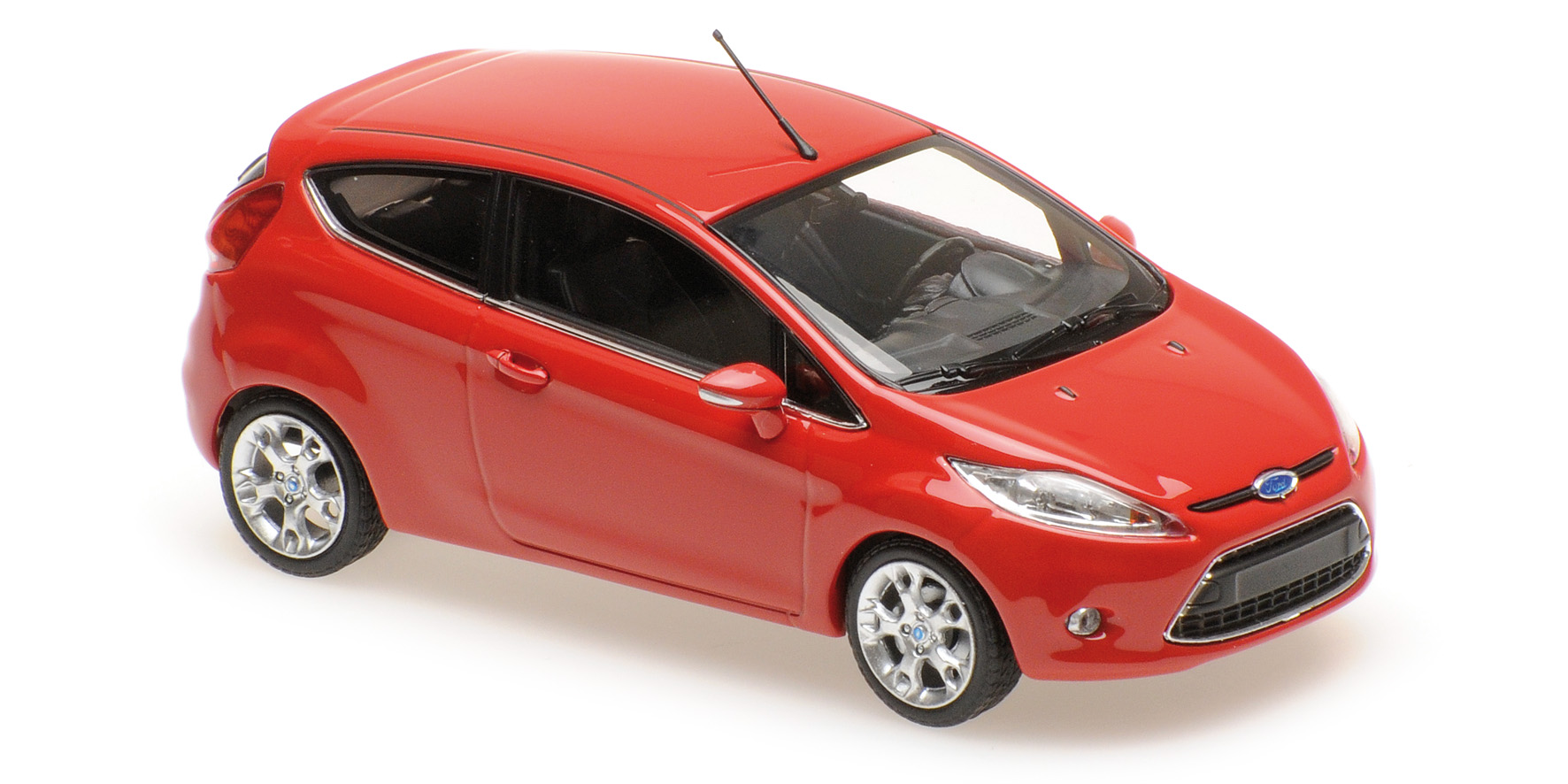 Ford Fiesta 2008 Rood