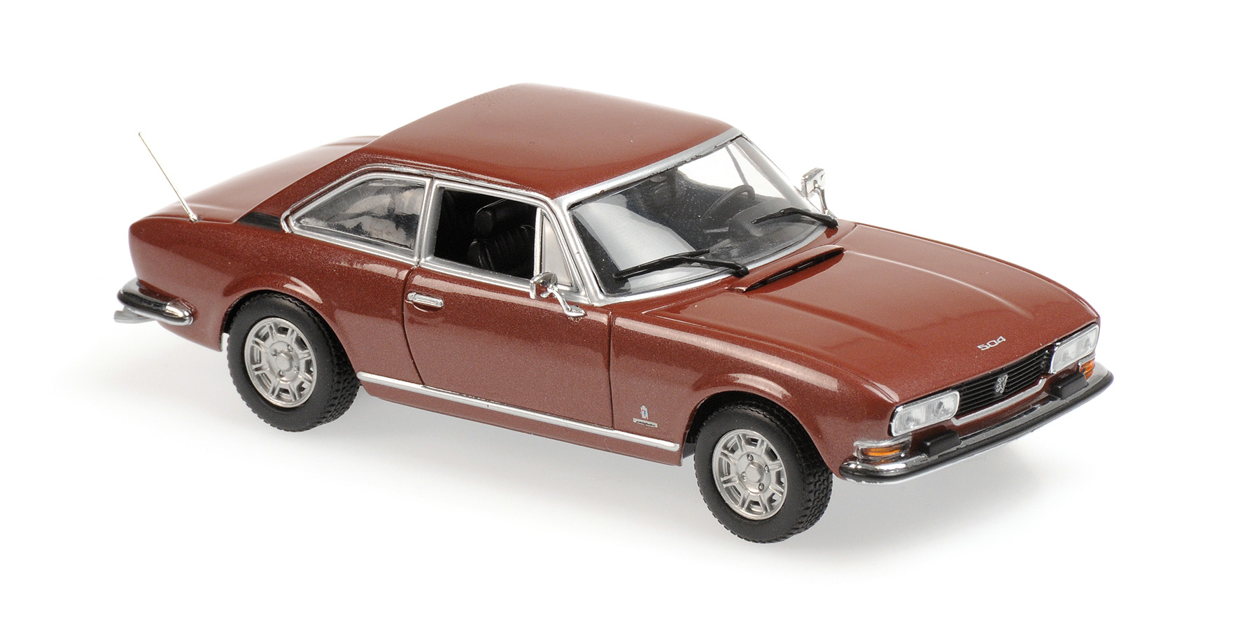 Peugeot 504 Coupe 1976 Bruin