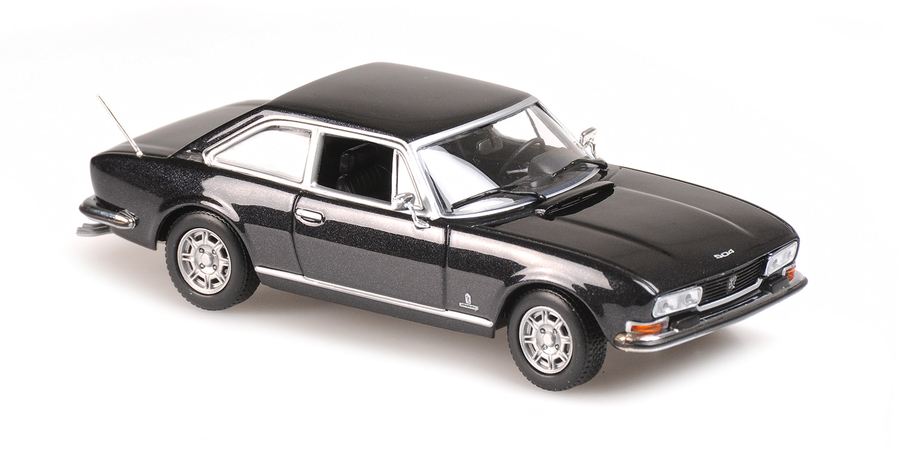 Peugeot 504 Coupe 1976 Antraciet