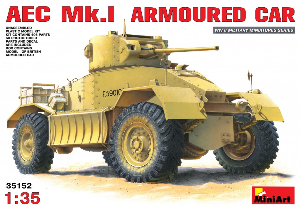 AEC Mk.I Armoured Car - 1:35